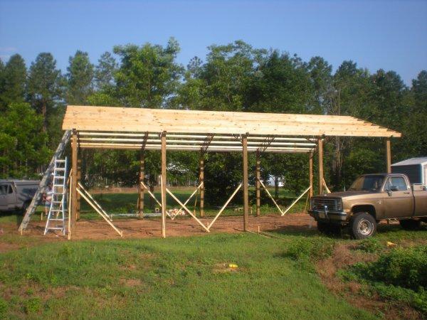 Rv pole barn ideas and pictures joy studio design for Rv pole barns