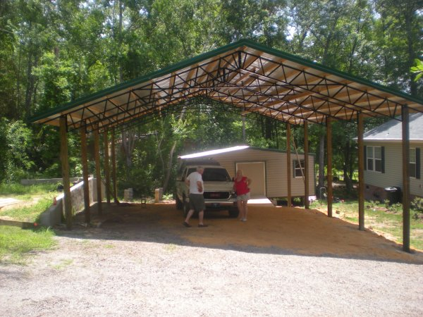 40x60x16 Garage Warehouse Shop Pole Barn Steel Building